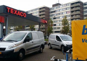 Installatie warmtepomp kanaalunit Texaco Amsterdam