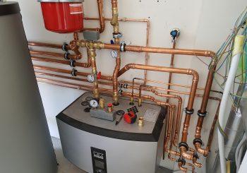 Installatie Remko warmtepomp bij particulier ( lopende project)
